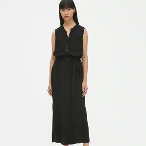 GAP Black Maxi Shirt Dress XL